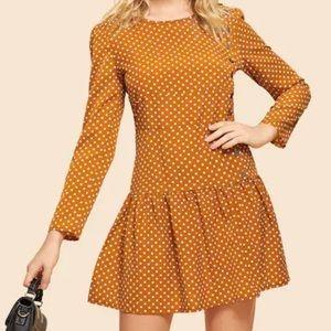 Vintage Style Polka Dot Dress Ginger